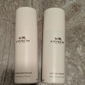 NEW Coach leather cleaner & moisturizer